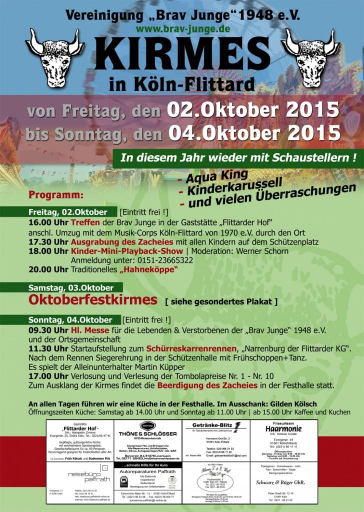 Kirmes 2015 in Köln-Flittard