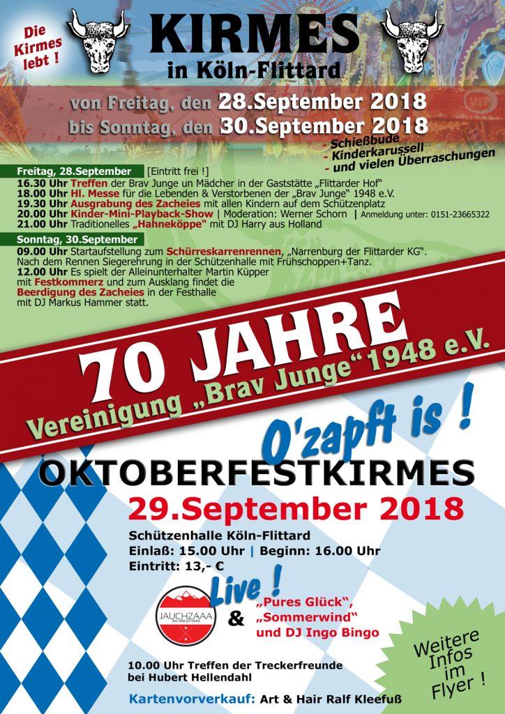 Kirmes-Plakat 2018